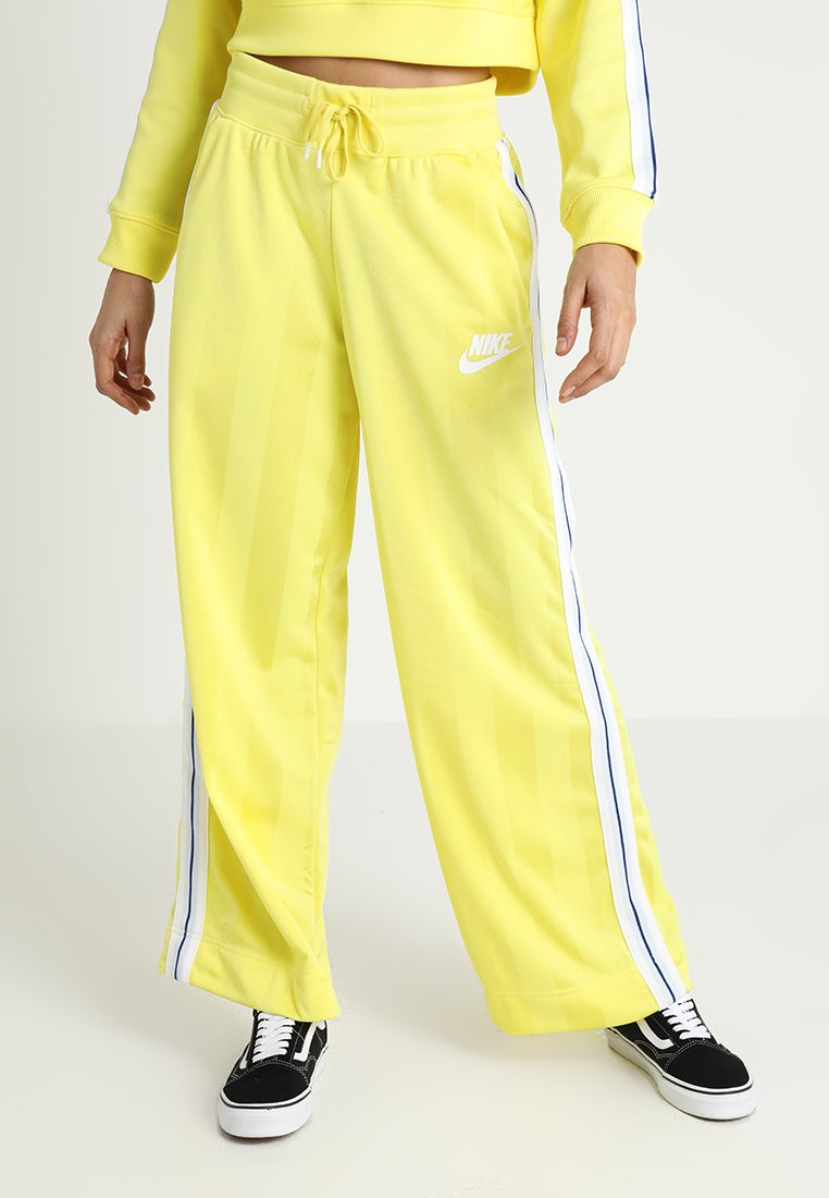 Nike Sportswear - PANT OH - Träningsbyxor - yellow pulse/antique silver/white