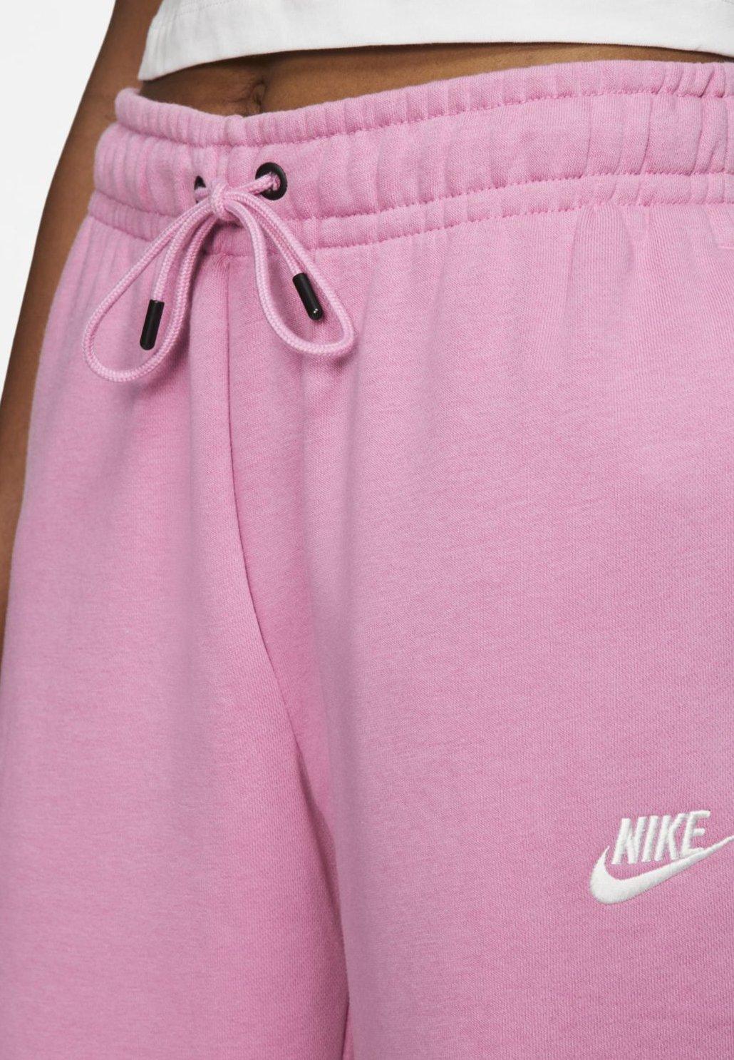 Nike Sportswear Spodnie treningowe - magic flamingo/white
