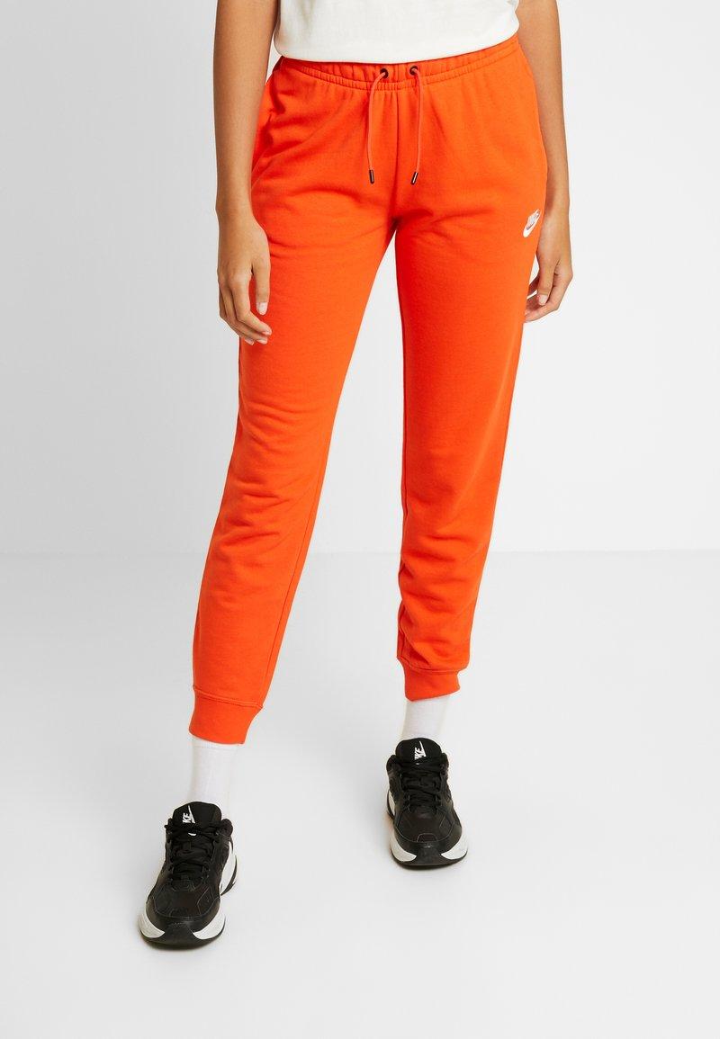 Nike Sportswear - PANT - Tracksuit bottoms - team orange/white