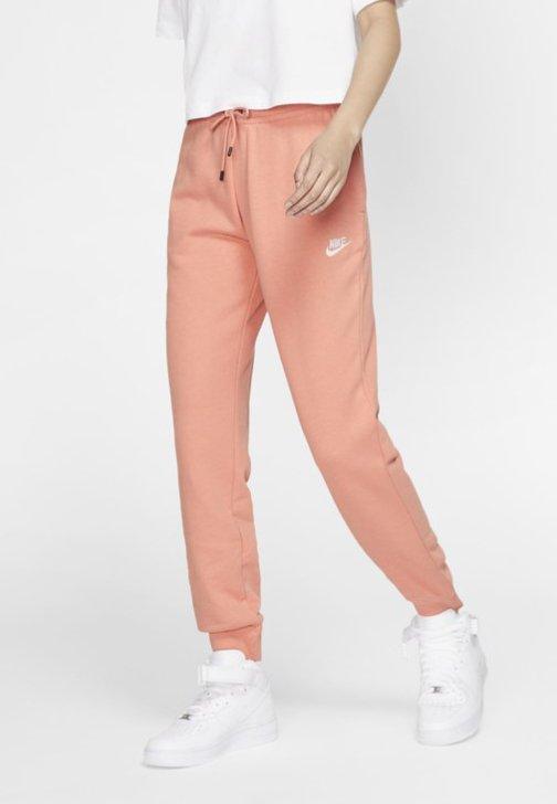 Nike Sportswear - Spodnie treningowe - pink quartz/white