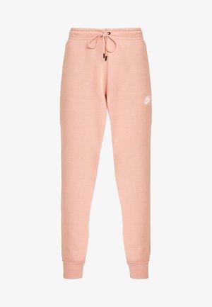 Tracksuit bottoms - pink quartz/white