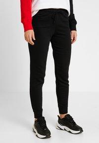 Nike Sportswear - PANT TIGHT - Trainingsbroek - black/white - 0
