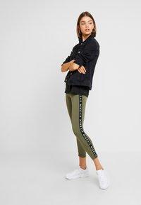 Nike Sportswear - AIR - Leggings - medium olive - 1
