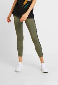 Nike Sportswear - AIR - Leggings - medium olive - 0