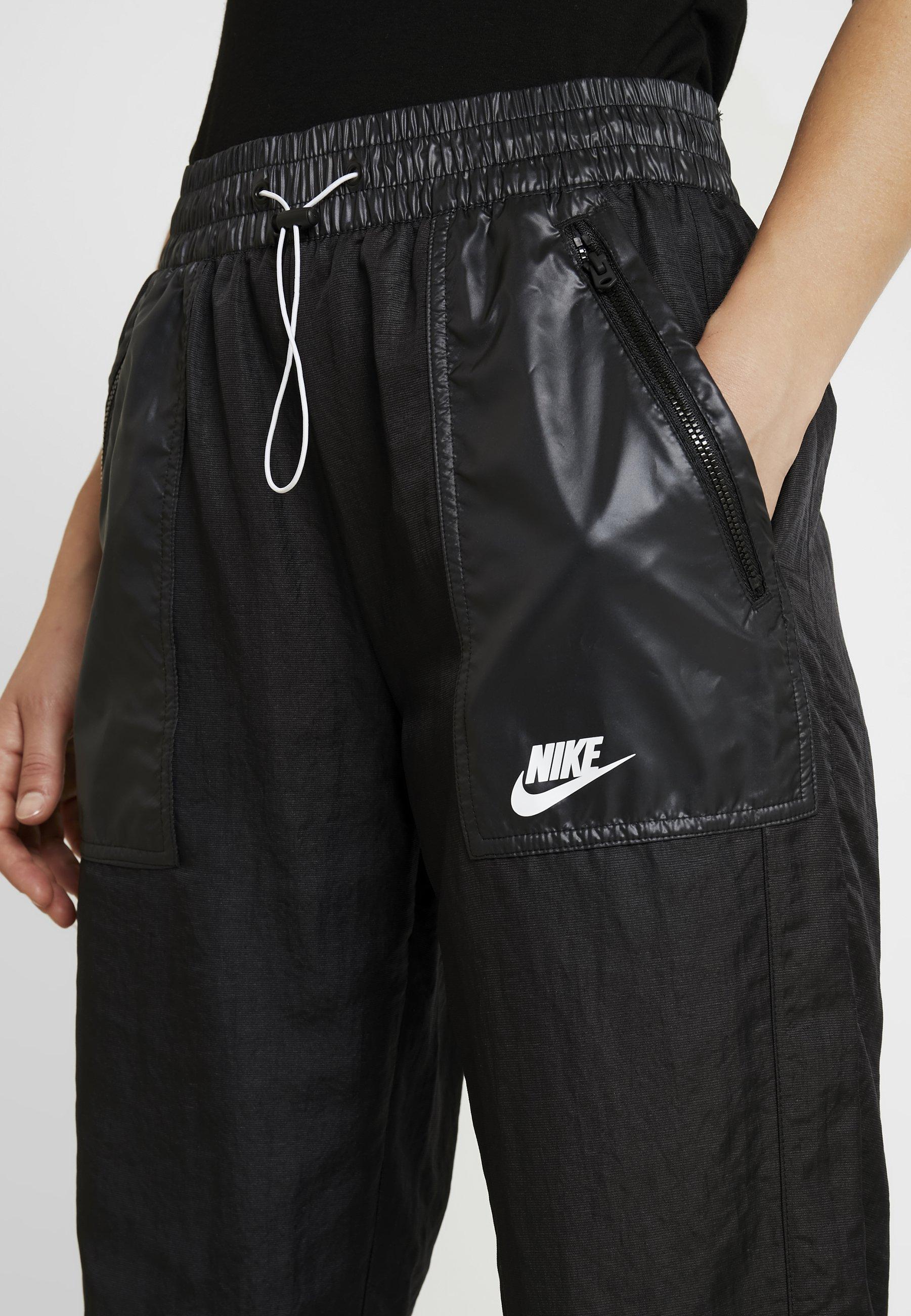 Nike Sportswear PANT CARGO REBEL - Pantaloni sportivi black/white