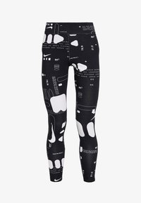 Nike Sportswear - AIR - Leggings - black/white - 3