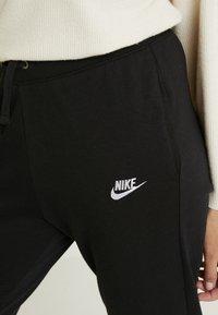 Nike Sportswear - PANT - Teplákové kalhoty - black/white - 4