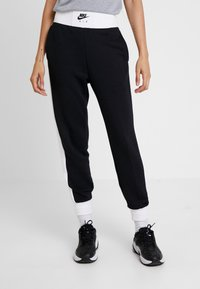 Nike Sportswear - AIR PANT - Pantalon de survêtement - black/birch heather/white - 0