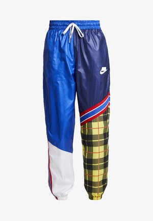 PANT - Trousers - blue void/game royal/white
