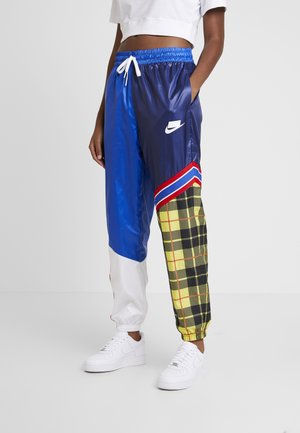 PANT - Kangashousut - blue void/game royal/white