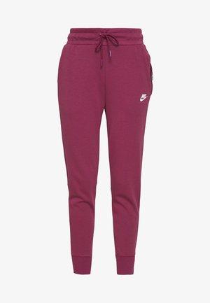 Pantalon de survêtement - mulberry rose/white