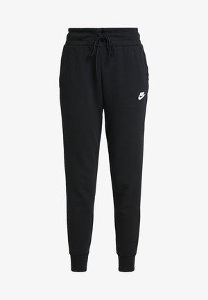 W NSW TCH FLC PANT - Teplákové kalhoty - black/white