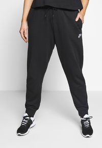 Nike Sportswear - PANT PLUS - Joggebukse - black/(white) - 0