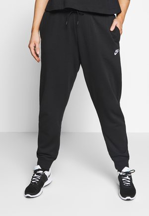 PANT PLUS - Joggebukse - black/(white)