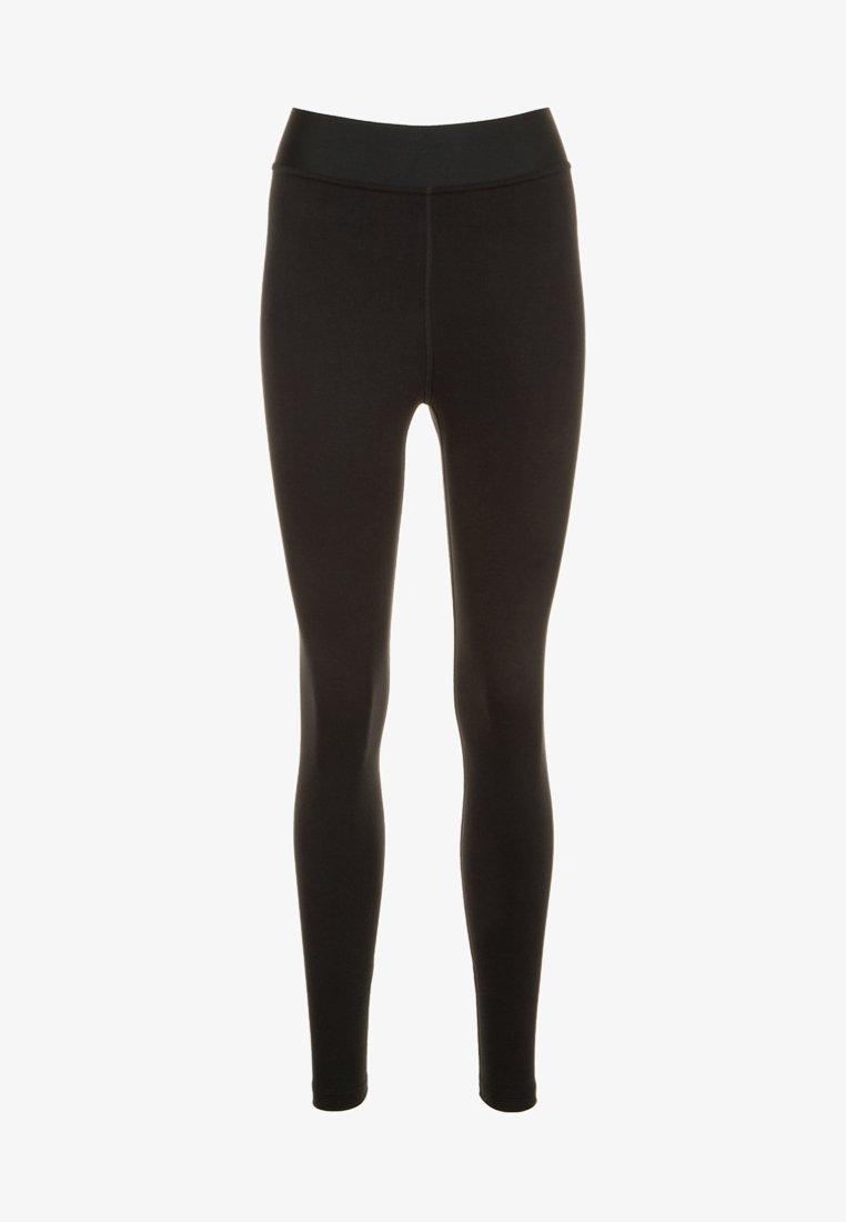 Nike Sportswear - LEG-A-SEE FUTURA - Tights - black/white