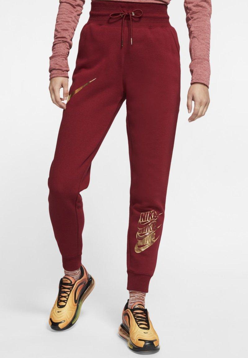 Nike Sportswear - SHINE - Pantalon de survêtement -  red