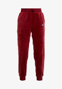 Nike Sportswear - PANT PLUSH - Tracksuit bottoms - team red/university blue - 3