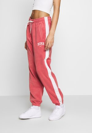 Tracksuit bottoms - light redwood
