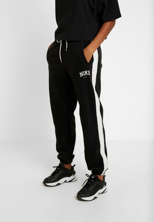 Tracksuit bottoms - black/sail