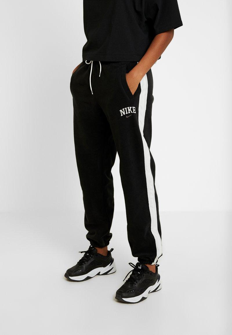 Nike Sportswear - PANT PLUSH - Pantalon de survêtement - black/sail