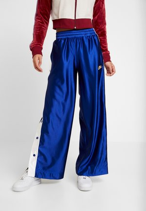 POPPER - Tracksuit bottoms - deep royal blue/white