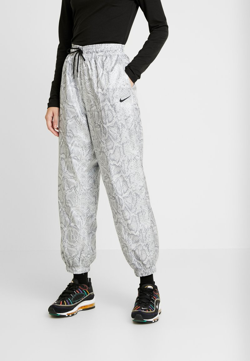 Nike Sportswear - PANT - Tracksuit bottoms - white/black