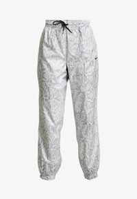 Nike Sportswear - PANT - Träningsbyxor - white/black - 4