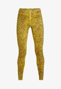 Nike Sportswear - Legging - speed yellow/black - 3