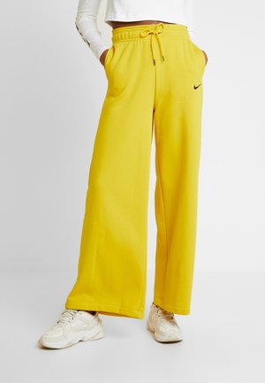 PANT  - Spodnie treningowe - speed yellow/black
