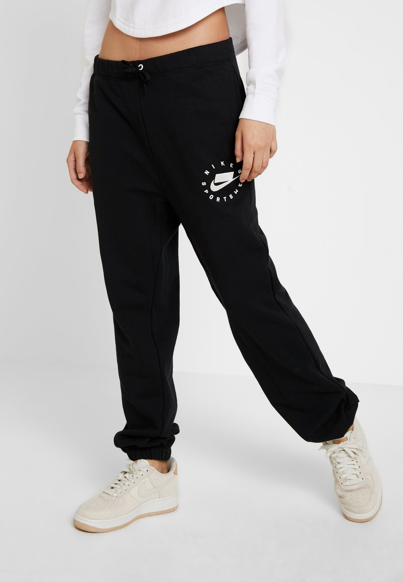 Nike Sportswear - PANTS - Pantaloni sportivi - black/summit white