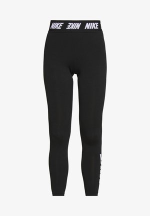 CLUB  - Leggings - black/white