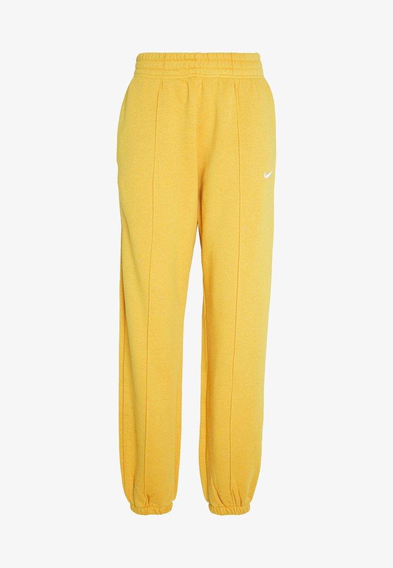 Nike Sportswear - W NSW PANT FLC TREND - Tracksuit bottoms - pollen rise