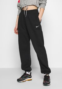 Nike Sportswear - PANT TREND - Spodnie treningowe - black/white - 0