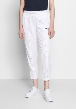 PANT - Trainingsbroek - white/black