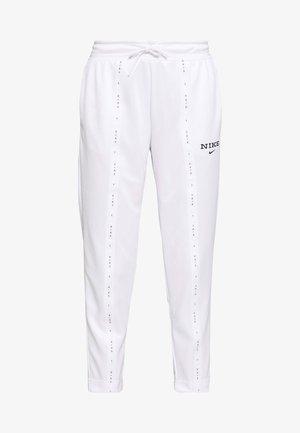 PANT - Træningsbukser - white/black