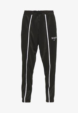 PANT - Tracksuit bottoms - black/black/white