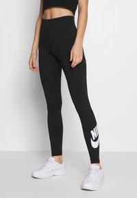 Nike Sportswear - LEGASEE FUTURA - Legging - black/white - 0
