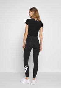 Nike Sportswear - LEGASEE FUTURA - Legging - black/white - 2