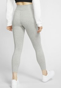 Nike Sportswear - Leggings - Trousers - dark grey heather/black - 2