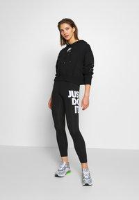 Nike Sportswear - Leggings - black/white - 1