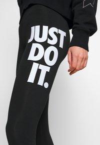 Nike Sportswear - Leggings - black/white - 4