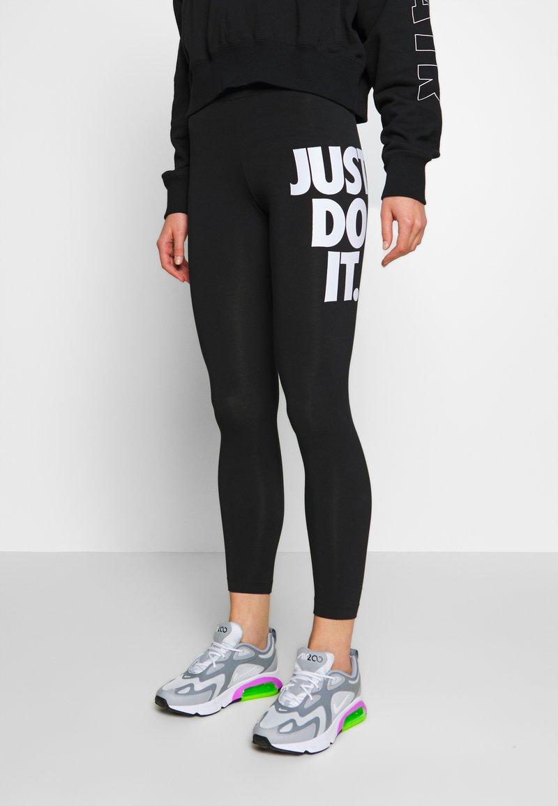 Nike Sportswear - Leggings - black/white