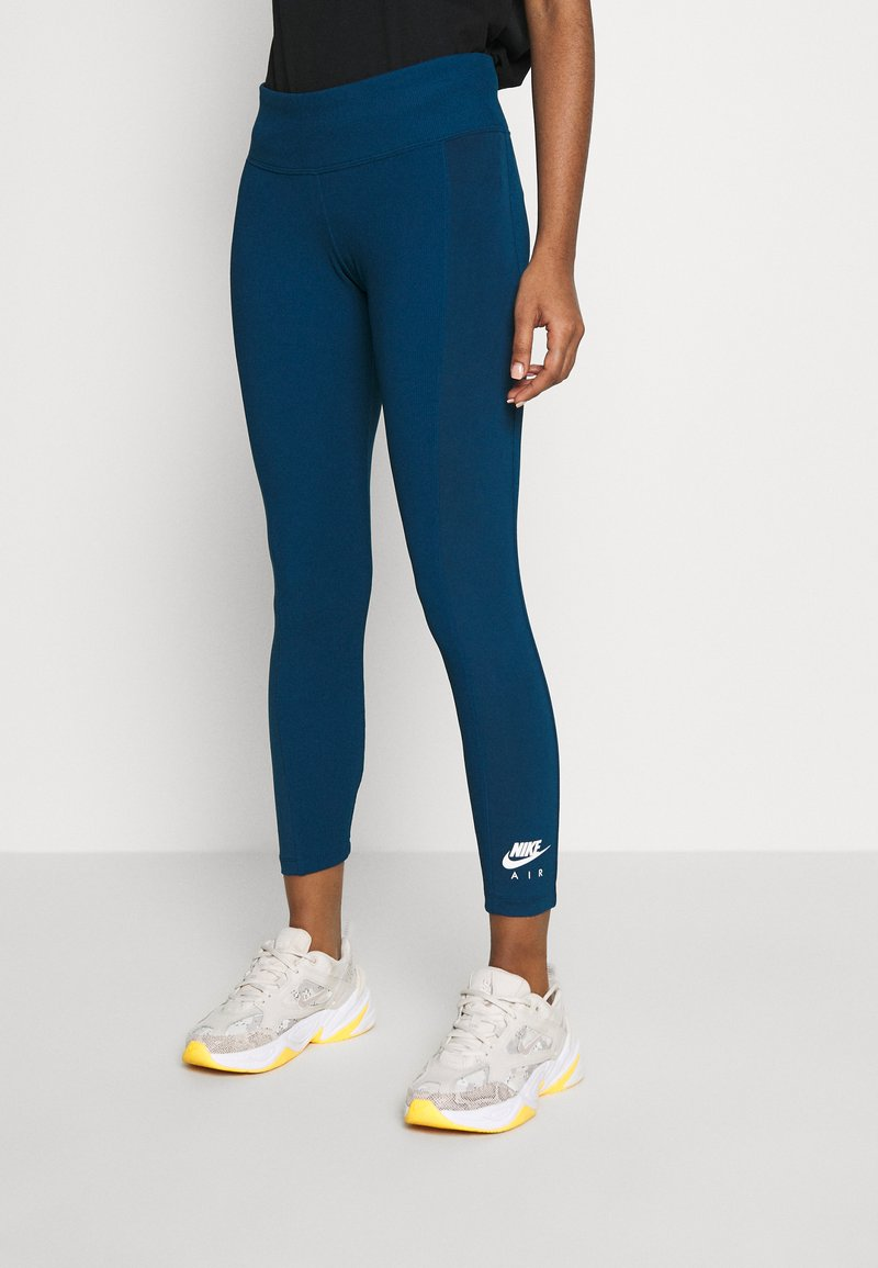 Nike Sportswear - Leggings - Trousers - valerian blue/ice silver
