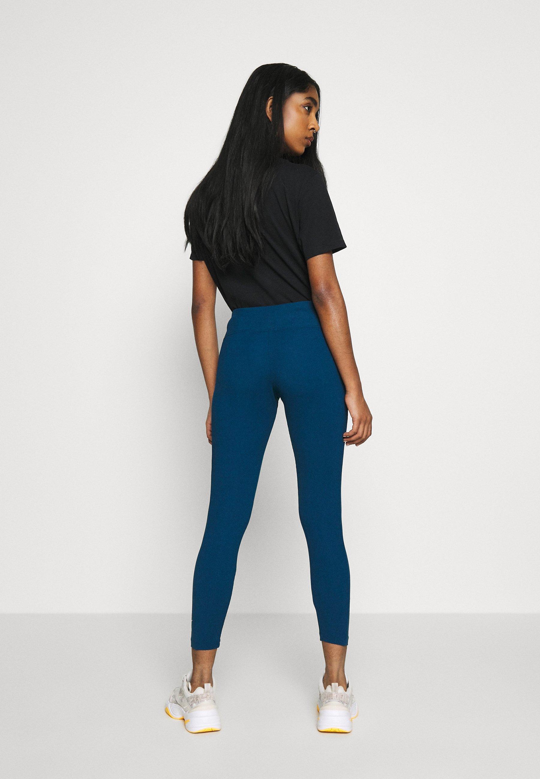 Nike Sportswear Leggings - valerian blue/ice silver w9s7TZlV