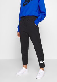 Nike Sportswear - W NSW SWSH PANT FT - Trainingsbroek - black/white - 0
