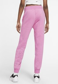 Nike Sportswear - AIR PANT - Tracksuit bottoms - magic flamingo/ice silver - 2