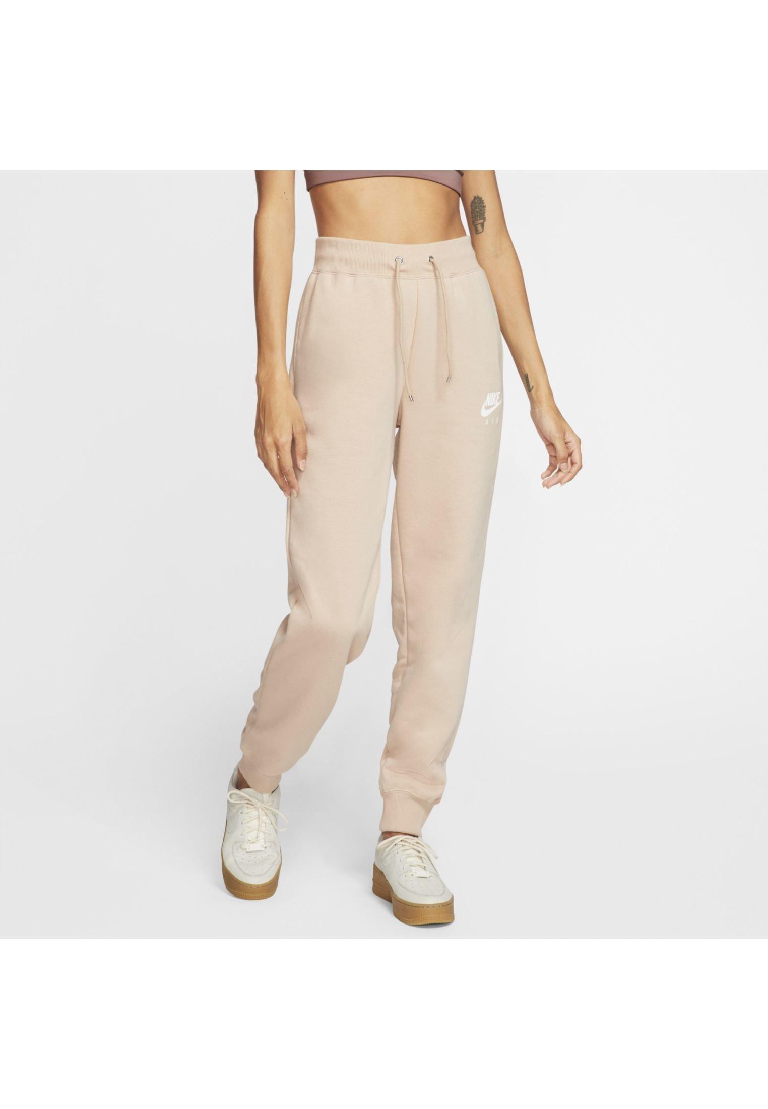 Nike Sportswear AIR PANT - Spodnie treningowe - light brown