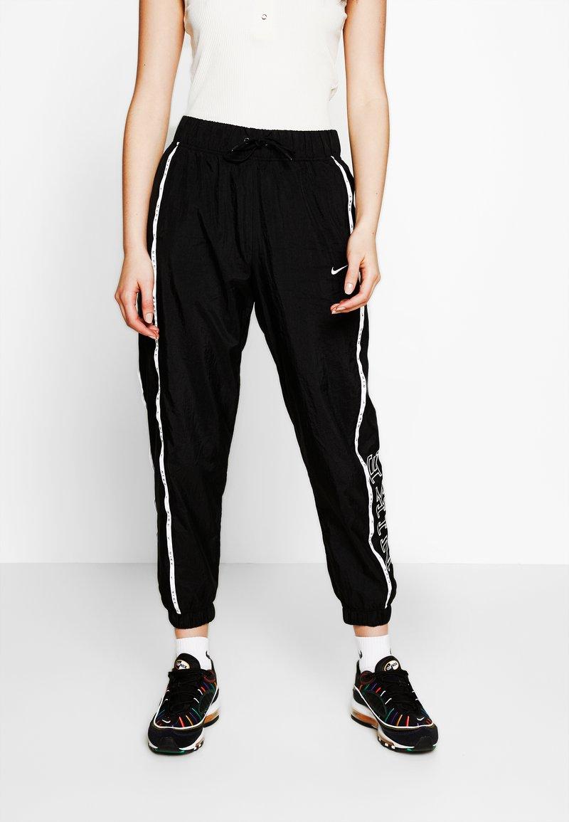 Nike Sportswear - PANT PIPING - Kalhoty - black/white