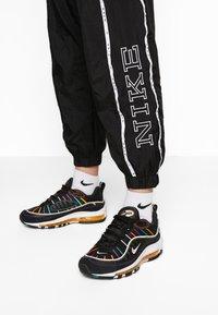 Nike Sportswear - PANT PIPING - Kalhoty - black/white - 5