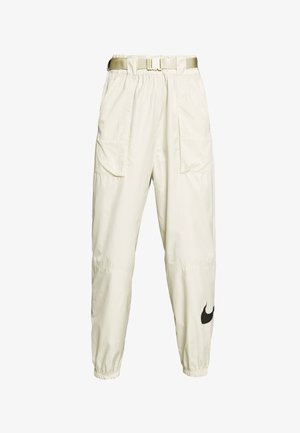 PANT - Tracksuit bottoms - fossil/black